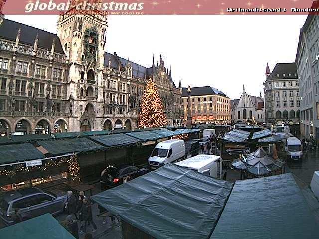 Webcam Monaco di Baviera - Mercatino di Natale